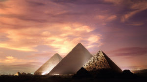 Pyramids of the Giza pyramid complex