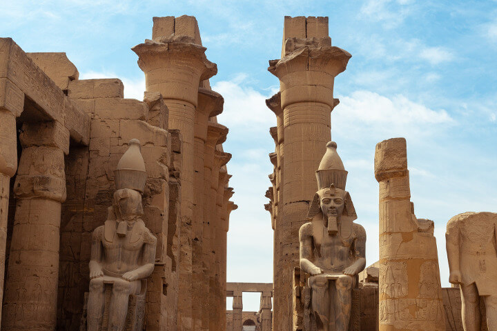 Temple in Luxor, Egypt